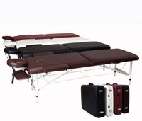 Wholesale Slimming Folding Massage Table Bed Folding Facial Bed Massage Table Chair Beauty Massage Bed For Beauty Spa Salon