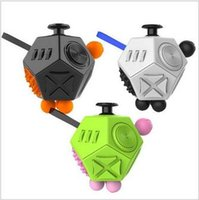Wholesale The Second Generation Fidget Cube The World s First American Original Decompression Anxiety Toys Surfaces Fidget Cube CCA5459