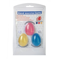 Wholesale Egg shape grip ball one set Hand Grip Strengthener Strength Trainer Adjustable Resistance Hand Exerciser Gripper Ball Kit