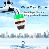 Wholesale Carbon Home Household Kitchen Mini Faucet Tap Water Clean Purifier Filter Filtration Cartridge Size