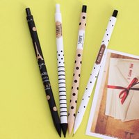 Wholesale Fashion Kawaii dot mechanical pencils mm point Good quality writing pencils for school kids girls students
