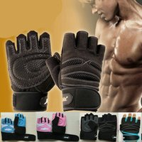Wholesale Hot Sports Gloves Cycling Bicycle Motorcycle Half Finger Short Gloves