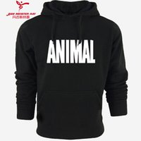 baking sleeve - Bodybuilding Hoodies Men Brand Fitness Mens Clothing Long Sleeve Cotton Casual Sweatshirts Muscle Bake Hoody men Hoodies
