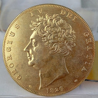 antique gold coins prices - UK Pounds George IV Gold Copy Coins Promotion Cheap Factory Price nice home Accessories Silver Coins