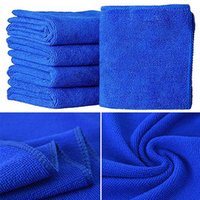 Wholesale 2017 Blue Soft Absorbent Wash Cloth Car Auto Care Microfiber Cleaning Towels P9X