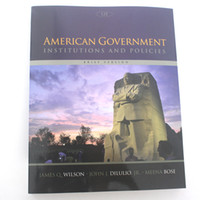 Wholesale Ship in hrs American Government Institutions and Policies Brief Version th Edition ISBN