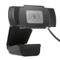 Wholesale USB Megapixels HD Clip on Webcam Web Camera Built in Sound Absorption Microphone with Auto Focus CMOS for Computer PC Laptop