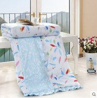 Wholesale Cool summer air conditioning to be washed cotton cotton double summer quilt children thin summer was Korean is the core