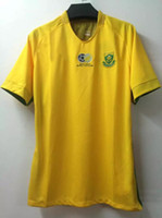 africa soccer - _ south africa soccer jersey away white custom name number Top thai AAA quality soccer uniforms football jersey clothing