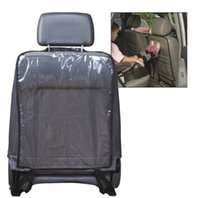 Wholesale Car Seat Backseat Transparent Dust Proof Protective Sleeve Babies Kick Mat Protects from Dirt Seat Covers Kickmat