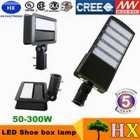 Compra Caja ul-UL enumeró la lámpara llevada encendida retrofit de la luz de la caja de zapato llevó la lámpara de la caja de zapatos Lámpara ligera del estacionamiento con 5 años de garantía ac90-305v 24-300w