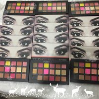 Wholesale In Stock Colors Huda Beauty Rose Gold Textured Eyeshadow Palette Brand New Makeup Contour Metallic Palette