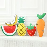 Wholesale 2016 The new hot fashion cute comfort soft delivery of friends and relatives Christmas gifts fruit plush toys