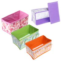 bamboo cosmetic containers - Make Up Organizer Cosmetic Folding Make Up Storage Box Container Bag Organizer Women Make Up Sets Box