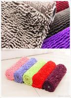 american dealer - Wholesales Chenille Carpet bedroom bathroom kitchen floor mat soft thick pile microfiber chenille carpet and rug dealer