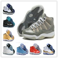baskets retail - basketball shoes retro s cool grey men athletic shoe retail Retro XI cool gray sport sneakers with boxes ship DHL