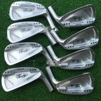 Wholesale Right Hand Golf Clubs Dance With Dragon Forged Iron Set Silve black Golf Forged Irons Pw Golf Head No Shaft