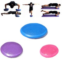 balance board exercises - New Long term exercise healthy Durian Ball One Stability Disc Balance Pad Wobble Cushion Ankle Knee Board Massage Mat