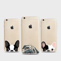 оптовых домашнее животное оптовиков-2017 Мой французский бульдог телефон Дело обложка оптовик для iPhone 6 6s 6plus Pet Pattern окрашенные силиконовые Shell для iPhone7 7plus