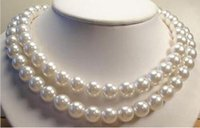 aw grade - Long quot mm White South Sea Shell Pearl Necklace AAA Grade AW