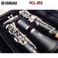 Wholesale YCL key drop B Clarinet Silver plated B Flat Klarinet Bakelite Nickel Plated Clarinet With Case Two Pairs Of Main Export