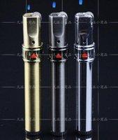 al por mayor ruedas inflables-Caliente de vidrio de fumar accesorios ZB638-1 muela de rueda de llama encendedores inflables fijos incendios finos metal encendedores