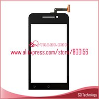 4.5 inch 854x480 Glass Wholesale- 20pcs lot 4.5inch For Asus Zenfone 4.5 Touch Screen Panel Digitizer Glass Lens free shipping by DHL EMS