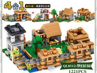 Wholesale New Minecraft Gifts boy Gifts plastic Small particles assembled Building Sets children Toys For years old kids