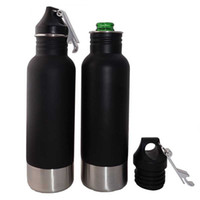 Wholesale Beer Bottle Armour Koozie Keeper Stainless Steel bottle Insulator with Bottle Opener DHL OTH328