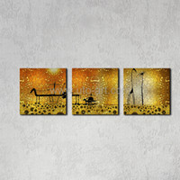 Cheap 3 Piece Canvas Landscape Modular Pictures Best Digital printing Classical spray print