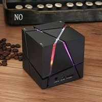 Wholesale Rubik s cube microphone radio Car subwoofer Wireless Bluetooth stereo