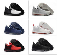 big boot band - 2017 With Box New Arrival Kevin Durant Basketball Shoes Men White Black Red KD Basketball boots KD9 Athletic Sneaker Big Size