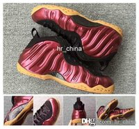 air penny foamposite - 2017 Air Foamposites One quot Maroon quot Penny Hardaway Mens Basketball Shoes Athletic Sport Foamposite Shoes Foams Size US