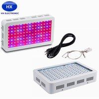 achat en gros de hydroponique led grow lumière-Plein spectre LED poussent la lumière 1000W 1200W Double Chips LED Grow Lights intérieur Hydroponique Systems Plantes lampe pour la floraison et la croissance