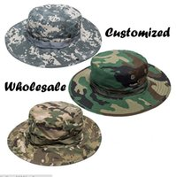 Wholesale Hot sale customize color Outdoor American Army popular style Ben Nepal HAT Fisherman caps VISOR BEANIE round edge