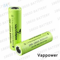 Wholesale Top quality A Vappower mah high discharge rate e cig battery better performance than VTC4 VTC5