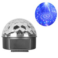 bars sound systems - DJ Club Bar Disco Stage Effect Lights Party Crystal LED RGB Magic Ball Auto Voice Activated Lighting Equipment System