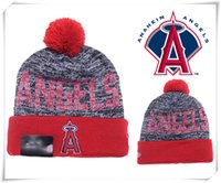 angels knit hat - NEW HOT Sport KNIT MLB Los Angeles Angels of Anaheim Baseball Club Beanies Team Hat Winter Caps Popular Beanie Fix Gift