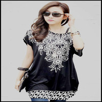 Crew Neck army style cap - latest fashion dashiki cute floral butterfly cat leopard star striped lace printed dress long t shirt a line for women summer style