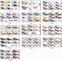 Wholesale Hundreds Popular Sunglasses for Men and Women Outdoor Sport Driving Sunglasses Cycling Eyeglass Brand New Designer Sunglasses Can Mix Styles