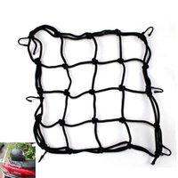 bags atv - Hot Sale Black Motorcycle Luggage Net Bike ATV Bungee Tank Helmet Web Cords Mesh Cargo Net Hook Tuck Net String Bag x cm