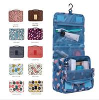 big makeup bag - 2017 Leopard New Arrival colors Wash Big Toiletry Women Handbag Travel Hanging Bag Makeup Portable Organizer Large Kit Case Lady Pouch