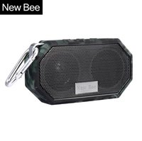 bee hands - New Bee Waterproof Wireless Bluetooth Speaker Mini Subwoofer Shower Portable speakers Hands free Call Mic for Phone PC