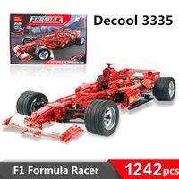 formula pc with best reviews - 2016 New 1242 PCS Decool 3335 F1 Formula Racing 1:8 Car Model Self-locking Bricks Building Set Minifigures Blocks educational children toys