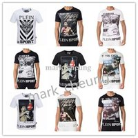 Wholesale Plus Size M XL German Brand PP Sport Short Sleeve Men T Shirt Boxing Champion Letter Print Fashion Casual Streetwear PP Tops Tees
