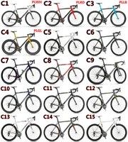 Wholesale 2016 C60 carbon complete bike with T1000 K UD C road bike carbon Frames mm carbon road bike Wheels