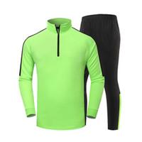 Wholesale 2016 Long sleeve adult Training suit