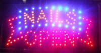 beauty shop signs - Hot sale custom neon signs led nails open shop sign led nails beauty nails spa neon sign of led
