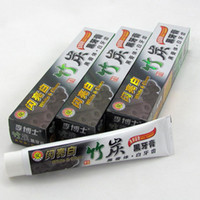 Wholesale 100g Charcoal Toothpaste Whitening Black Tooth Paste Bamboo Charcoal Toothpaste Oral Hygiene Product High Quality Hot Sale