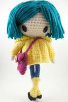 amigurumi dolls - Coraline Petite Amigurumi Doll